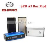 Box mod ehpro SPD A5 50W with tempreture control mini e-cig mod from szehpro manufacture