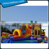 inflatable combos fun city/ inflatable obstacle slide bouncer for amusement park
