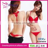 Hot Selling 2014 New Sexy Women Underwear Bras Set Front Closure Lace Bra Intimates Women Bra