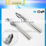 tungsten carbide CNC Ball End Mills Micro Grain Altin coated ,Round Nose end milling cutter