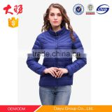 Outdoor clothing brands feather padded jacket ski winter wholesale quilted padded jacket