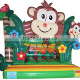 2016 New design inflatable Kids jungle bounce house