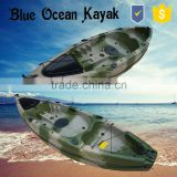 2015 Hot NEW Desgin Single fishing kayak with pedal / Rudder Kayak