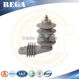 YH10W-9, Silicon Rubber Housed lightning Arrester with Lightning Rod,Lightning Protective Device