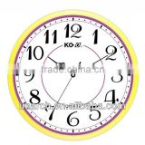 Bright Color Case Wall Clock