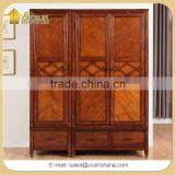 Bedroom Set Wooden Wardrobe and Storage Cabinet with 3 Door