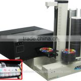 Apollo PA9E CD DVD Printer Autoloader w/ CISS Inkjet Printer, Epson L800 Bulk Ink Printer, 600 Disc Capacity
