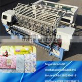 Computer shuttle multi needle quilting machine