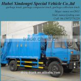 Dongfeng 4*2 China Compression Garbage Truck Loader