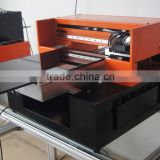 2015 best sales digital led uv flatbed printer, stable quality A3 size uv printer printing onto PVC Card, USB, Wood, Case