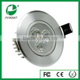 2014 new design factory price hunan pusisat best selling high quality led round downlight