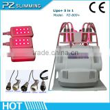 Fast Cavitation Slimming System Rf Cavitation Slimming Machine Beauty Salon Weight Loss Equipment 5 40hkz In 1 With Ultrasonic Vacuum RF For Fat Burning Equipment
