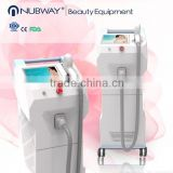 10.4'' touch color screen 600W German laser bar professional 808nm laser hair removal machine for sale