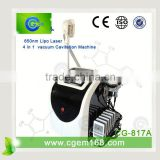 CG-817A Free Shipping !!! Good Price Cryolipolysis 220 / 110V Cool Shaping Machine For Slimming Improve Blood Circulation