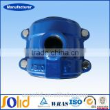 Factory PVC pipe fitting saddle clamp joint made in China