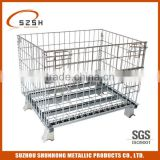 equipment food storage cage wire mesh container