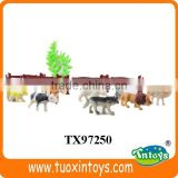 bulk mechanicals plastic animal toys, plastic forest animal toy set
