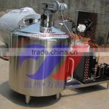 500L vertical milk cooling tank