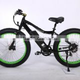 Newly 26 inch suspension 48V fat tire electric mountain bike e bicycle with hidden battery