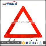 Road Emergency Foldable Reflective Car Triangle Warning Sign