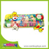 Top sale colorful playmat foldable baby play music mat