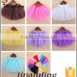 new fashion kids 3 layers tulle tutus kids skirts children ballet tutu dance wear baby tutu