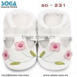 infant babyshoes with high quality leather