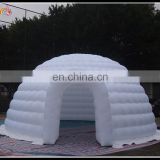 white inflatable tent igloo , inflatable air tent for advertising equipment