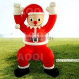 Commercial use big advertising inflatable santa claus model for party for sale