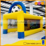AOQI big discount inflatable football game indoor football field home yard inflatable football goal for sale