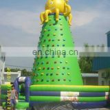 2012 best Inflatable climbing rock