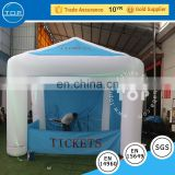 TOP inflatable tent with light corner tent with windows for sale