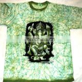 indian BATIK PRINTS T-SHIRTS hindu gods prints