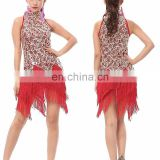 BestDance adult sexy latin dance costumes sexy salsa ballroom dancing dress party stage dress skirts for women OEM