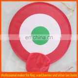 custom foldable flying frisbee toy