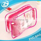 Hot Sale Top Quality Promotional Waterproof PVC Zipper Cosmetic Tote Bag