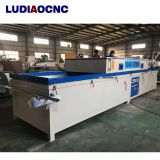 China Good price PVC film vacuum hot membrane press machine with two tables