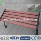 outdoor wpc portable garden bench