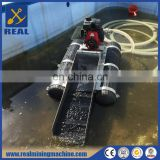 Gold fossicking equipment floating gold dredge for sale