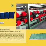 PU ROLLING SHUTTER PRODUCTION LINE