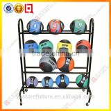 Movable custom metal bowling ball rack