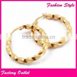 Fashion Cheapest black metal fashion hoop earrings