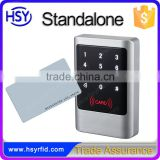 HSY-S238 Vandal proof Touch Screen Standalone Access Controller with Digital backlit keypad