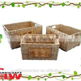 corn leaf basket, wooden pattern basket, cheap wooden fruit crates for sale
