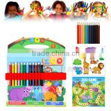 Eco friendly new product pencil drawing kit art and craft for children activity