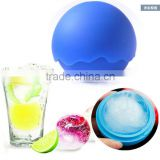 cute round single ball wave edge ice ball maker mold                                                                         Quality Choice