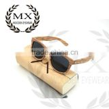 popular new design color bamboo wood sunglasses