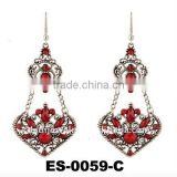 Fashion big european earring, custume chandelier earrings