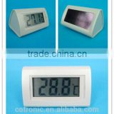 room table solar digital thermometer