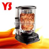 round electric oven with rotary grill chicken function